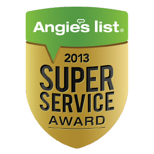 Angie's List Super Service Award Winner 2
