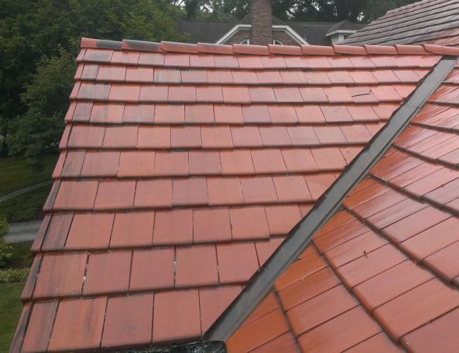 Your roof will look new again after roof washing.