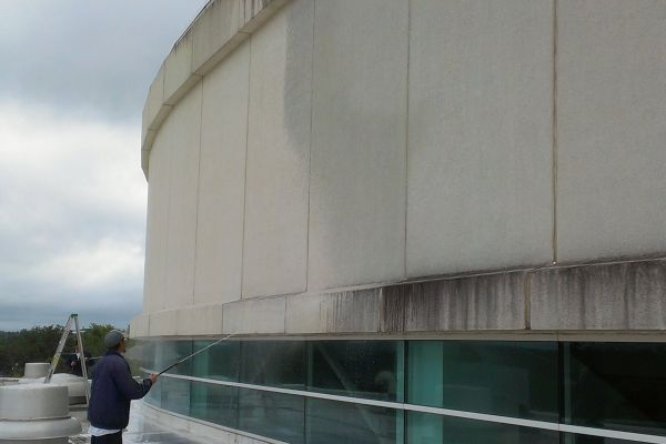During building commercial pressure washing services.