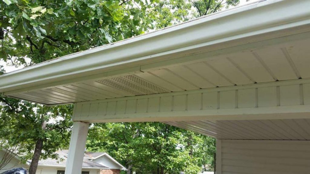After using gutter butter, the inside and outside of your gutters will look like-new.