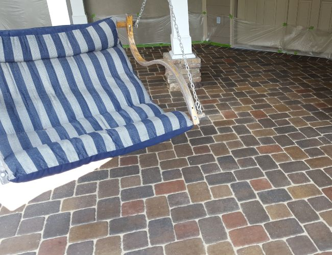 After paver cleaning. Stay clean & protected.