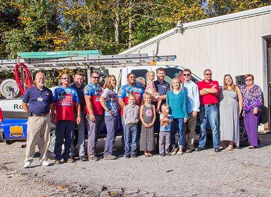 Our Team. The Precision Pro Wash Family.
