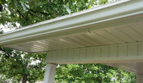 After gutter butter. Make your gutters look new again.