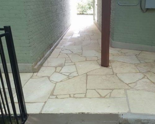 The results are incredible. After concrete cleaning.